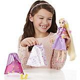 Кукла Рапунцель в  платье со сменными юбками, Принцессы Дисней, B5312/B5315