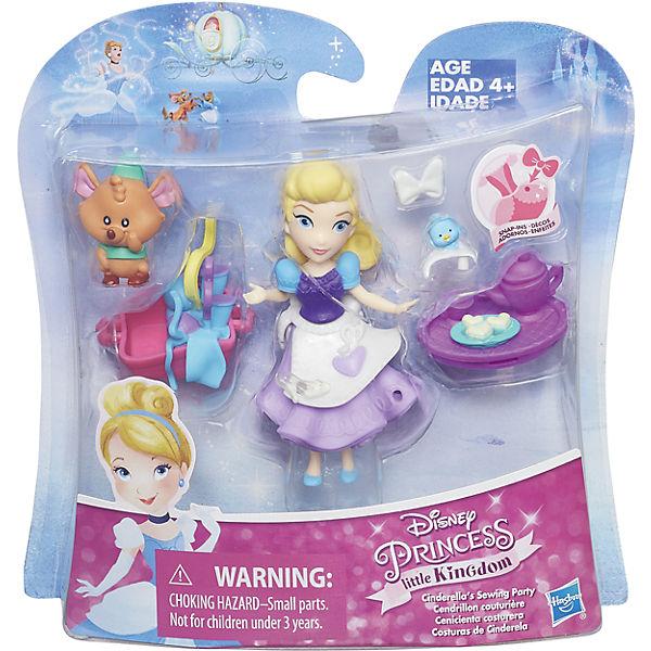 """Игровой набор """"Маленькая кукла Принцесса и ее друг"""" Золушка и мышонок Гас, B5331/B5333"""
