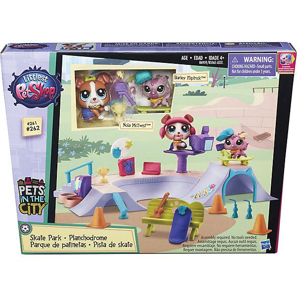 """Игровой набор """"Городские сценки. В парке"""", Little Pet Shop, B5565/B6959"""