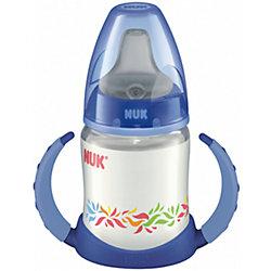 Бутылочка First Choice-поильник, 150 мл., NUK, синий