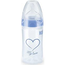 Бутылочка First Choice New Classic с широким горлом, 150 мл., NUK, голубой