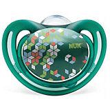 Пустышка силиконовая для сна FREESTYLE, 18-36 мес., NUK, зеленый