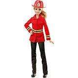 """Кукла Barbie Пожарный из серии """"Кем быть?"""""""