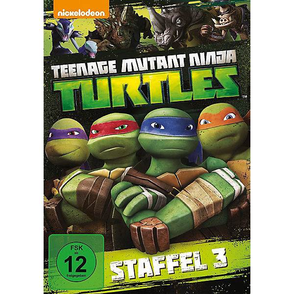 DVD Teenage Mutant Ninja Turtles - Season 3