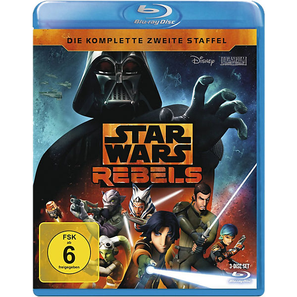 BLU-RAY STAR WARS REBELS - Season 2