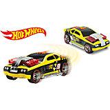 Машинка на батарейках, жёлтая, 17 см, Hot Wheels