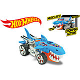 "Машинка на батарейках ""Голубая акула"", 23 см, Hot Wheels"