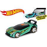 Машинка Hyper Racer (свет, звук), зеленая, 25 см, Hot Wheels