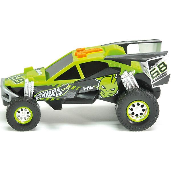 Электромеханическая машинка, зелёная, 14 см, Hot Wheels