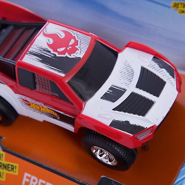 Машинка Freeway Flyer - Baja Truck (свет, звук), красная, 14 см, Hot Wheels