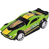 Машинка Freeway Flyer - Drift Rod (свет, звук), зеленая, 14 см, Hot Wheels