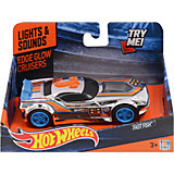 Машинка Edge Glow Cruiser - Fash Fish (свет звук), 13,5 см, Hot Wheels