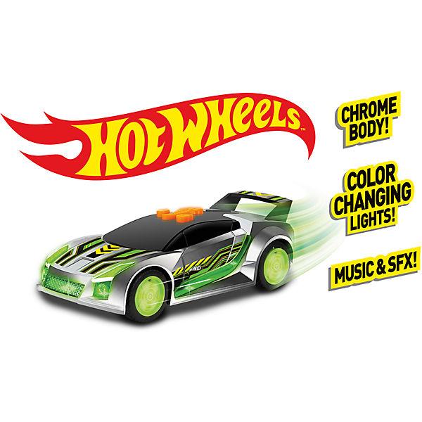 Машинка - Quick 'N Sik (свет, звук), 13,5 см, Hot Wheels