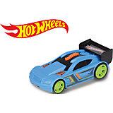 Машинка на батарейках, голубая, 13 см, Hot Wheels