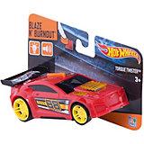 Машинка на батарейках, красная, 13 см, Hot Wheels