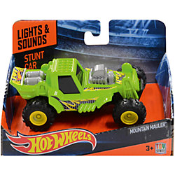 Машинка Stunt Jumper - Mountain Mauler, зеленая, 12.5 см Hot Wheels