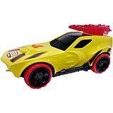Машинка на батарейках, желтая, 27 см, Hot Wheels