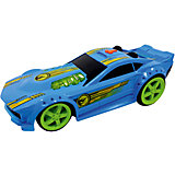 Машинка Mega Muscle - Drift Rod (свет, звук), синяя, 32,5 см, Hot Wheels