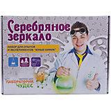 """Набор для  экспериментов """"Юный химик"""",""""Серебряное зеркало"""""""