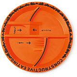 Тарелка Строительная серия, Constructive Eating, оранжевый