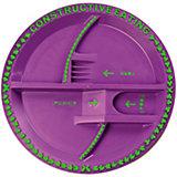 Тарелка Серия Волшебный сад, Constructive Eating, фиолетовый