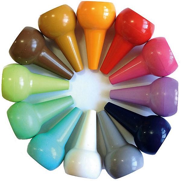 Набор восковых карандашей. Пастельные цвета, Playon Crayon, разноцветный/Pastel set