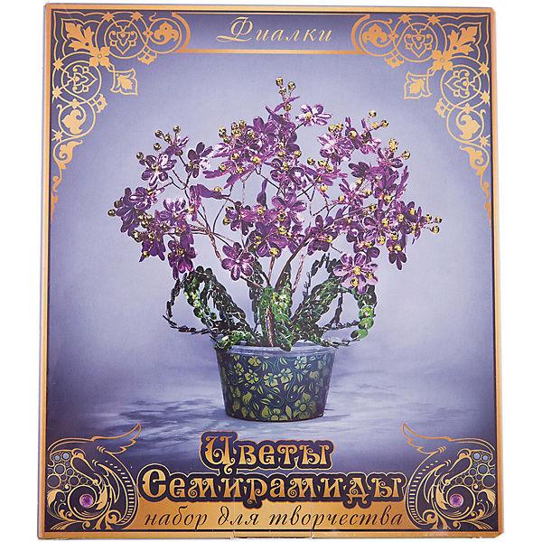 """Набор для творчества """"Цветы Семирамиды"""" Фиалки"""