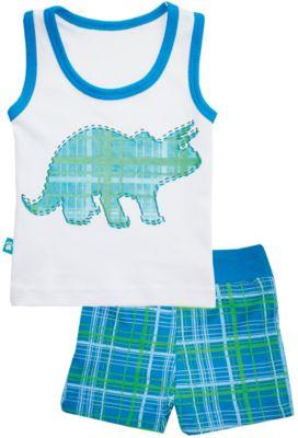 Пижама: майка и шорты для мальчика КотМарКот - разноцветный