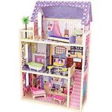 """Домик из дерева для 30см кукол """"Кайла"""" (Kayla dollhouse), с мебелью, 10 предм., KidKraft"""