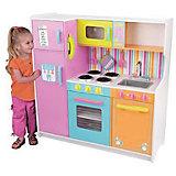 Большая детская игровая кухня «Делюкс» (Deluxe Big & Bright Kitchen), KidKraft