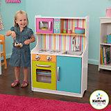 Деревянная игровая кухня «Делюкс Мини» (Bright Toddler Kitchen), KidKraft