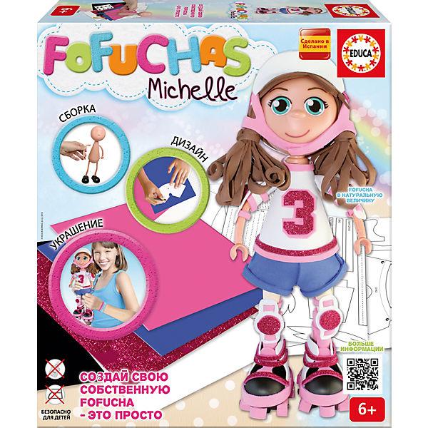 Фофуча Мишель - набор для творчества в виде куклы