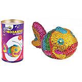 Мозаика из пайеток 3D Рыбка