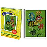 Мозаика из пайеток Пчелка