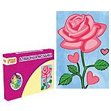 Набор для творчества Алмазная мозаика «Роза»