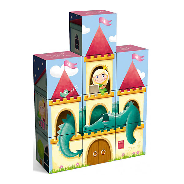 """Кубики """"Дворец принцессы"""", Stellar"""