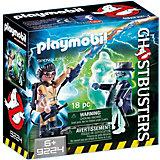 "Конструктор Playmobil ""Охотники за привидениями"" Игон Спенглер и привидение"