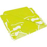 Байковое одеяло 100х118 см., Топотушки, салатовый