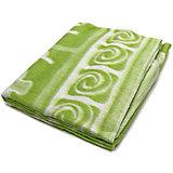 Байковое одеяло 110х118 см. (жаккард), Топотушки, фисташковый