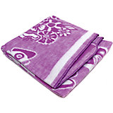 Байковое одеяло х/б 140х100 см., Топотушки, фиолетовый
