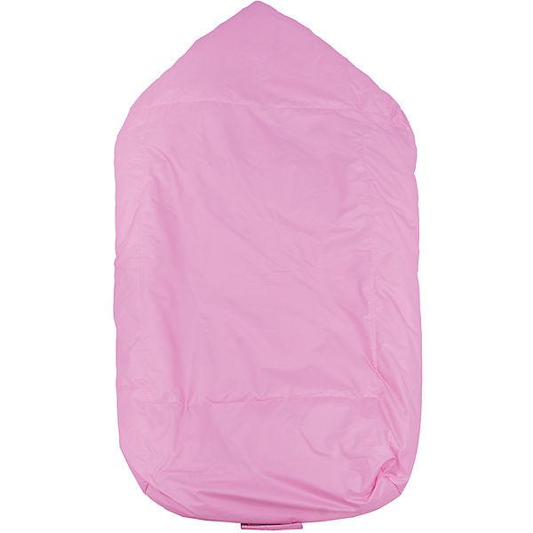 Меховой конверт Ладушка, Топотушки, розовый