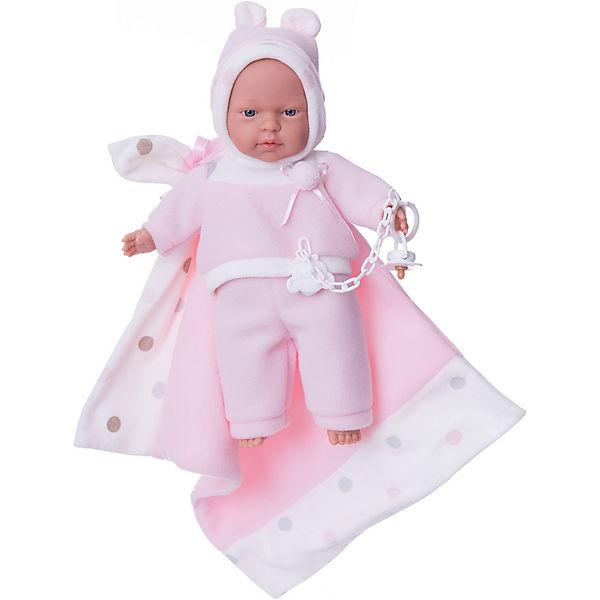 """Кукла """"Люсия"""" с одеялом, 33 см, Llorens"""
