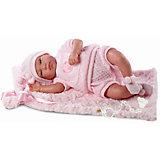 Пупс с одеялом, 43 см, Llorens