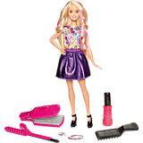 Игровой набор «Цветные локоны», Barbie