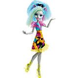 """Неоновая монстряшка Сильви Тимбервульф из серии """"Под напряжением"""", Monster High"""