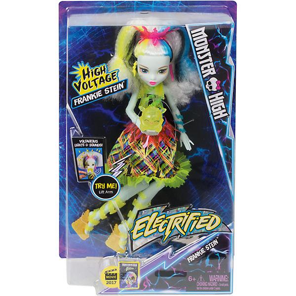 """Электро Фрэнки из серии """"Под напряжением"""", Monster High"""