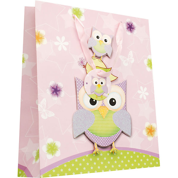 Пакет Сиреневые совы