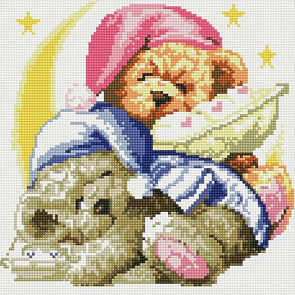 """Мозаика на подрамнике """"Два медвежонка"""""""