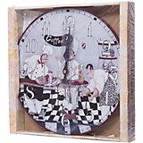 """Часы настенные """"Время пить кофе"""", диаметр 34 см"""