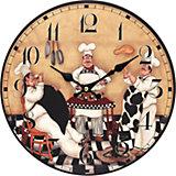 """Часы настенные """"Время печь пироги"""", диаметр 34 см"""